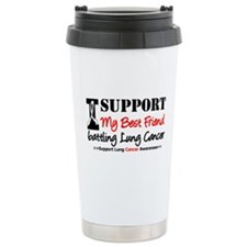 Support Lung Cancer Awareness Travel Mug