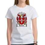 Hanski Family Crest Women's T-Shirt