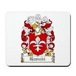 Hanski Family Crest Mousepad