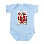Hanski Family Crest Infant Creeper