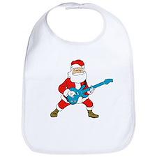 Rock N Roll Santa Bib
