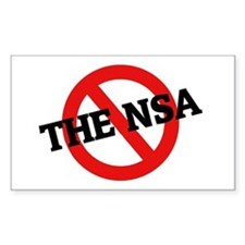 Anti The Nsa Rectangle Decal