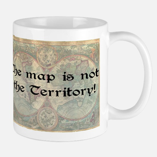 The map Mug