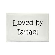 Cute Ismael Rectangle Magnet