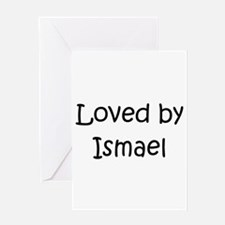 Cute Ismael Greeting Card