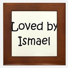 Unique Ismael Framed Tile