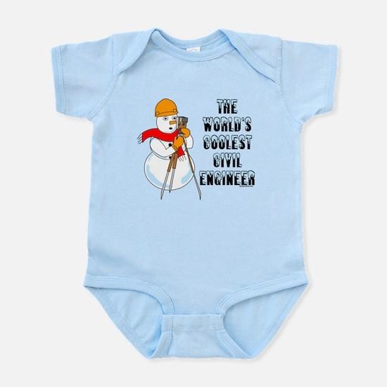 Coolest Civil Engineer Infant Bodysuit