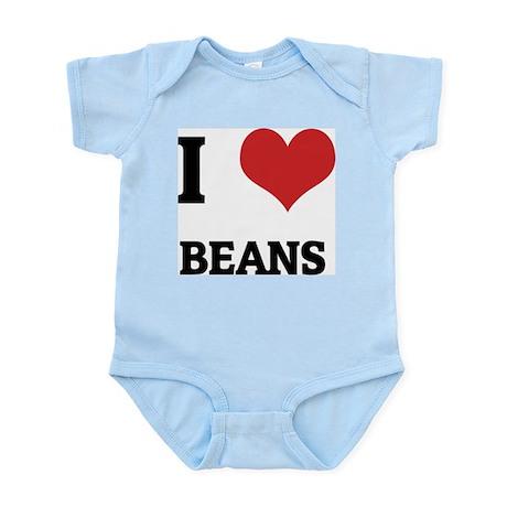I Love Beans Infant Creeper