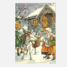 Glædekig Jul Postcards (Package of 8)