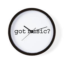 got music? Wall Clock
