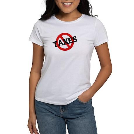 Anti Taxes Women's T-Shirt