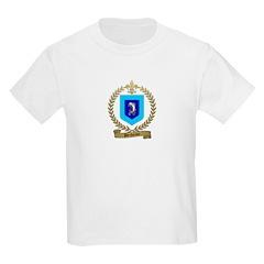 DECHAINE Family Crest Kids Light T-Shirt