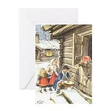 Glædelig Jul Greeting Card