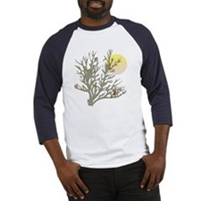 Winter Birds & Tree Baseball Jersey