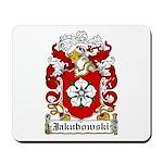 Jakubowski Family Crest Mousepad
