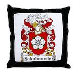 Jakubowski Family Crest Throw Pillow