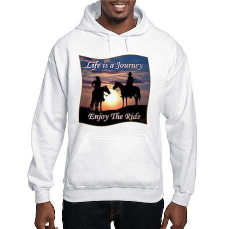 Life is a Journey - Hooded Sweatshirt