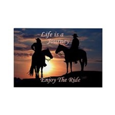 Life is a Journey - Rectangle Magnet