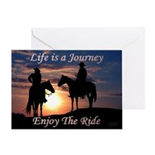 Life is a Journey - Greeting Card