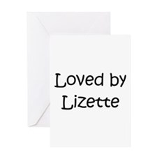 Funny Lizette Greeting Card