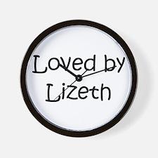 Cute Lizeth Wall Clock