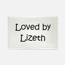 Cute Lizeth Rectangle Magnet