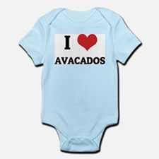 I Love Avacados Infant Creeper