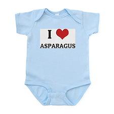 I Love Asparagus Infant Creeper
