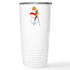 Snowman Surveyor Travel Mug