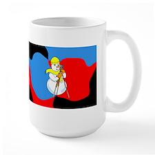 Snowman Surveyor Mug