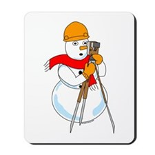 Snowman Surveyor Mousepad