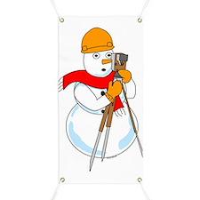 Snowman Surveyor Banner