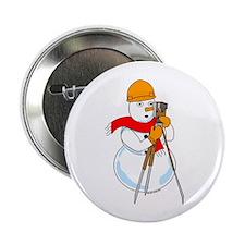 "Snowman Surveyor 2.25"" Button (10 pack)"