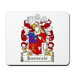 Jaworski Family Crest Mousepad