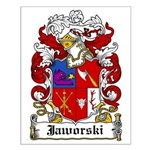 Jaworski Family Crest Small Poster