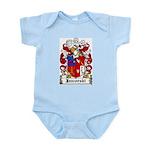 Jaworski Family Crest Infant Creeper