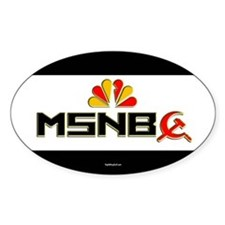 Olbermann Maddow Home Oval Bumper Stickers