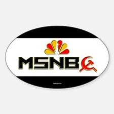 Olbermann Maddow Home Oval Decal