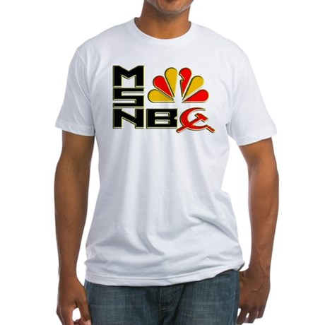 Olbermann Maddow Home Fitted T-Shirt