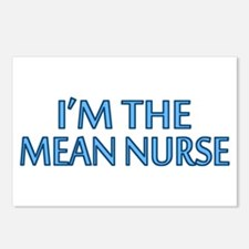Mean Male Nurse Postcards (Package of 8)