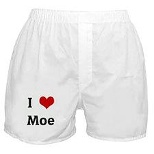 I Love Moe Boxer Shorts