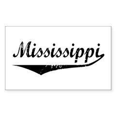 Mississippi Rectangle Decal