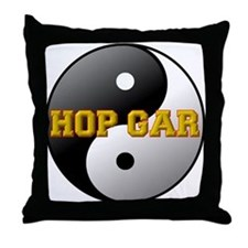 Hop Gar Throw Pillow