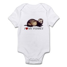 I love my ferret Infant Bodysuit