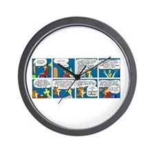 Language Wall Clock