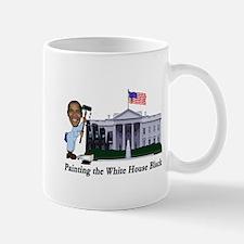 Painting the White House Black Mug