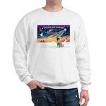 XmasSunrise/Mastiff #3 Sweatshirt