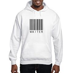 Waiter Barcode Hoodie