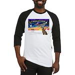 XmasSunrise/Greyhound(brin) Baseball Jersey