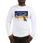 XmasSunrise/Greyhound(brin) Long Sleeve T-Shirt